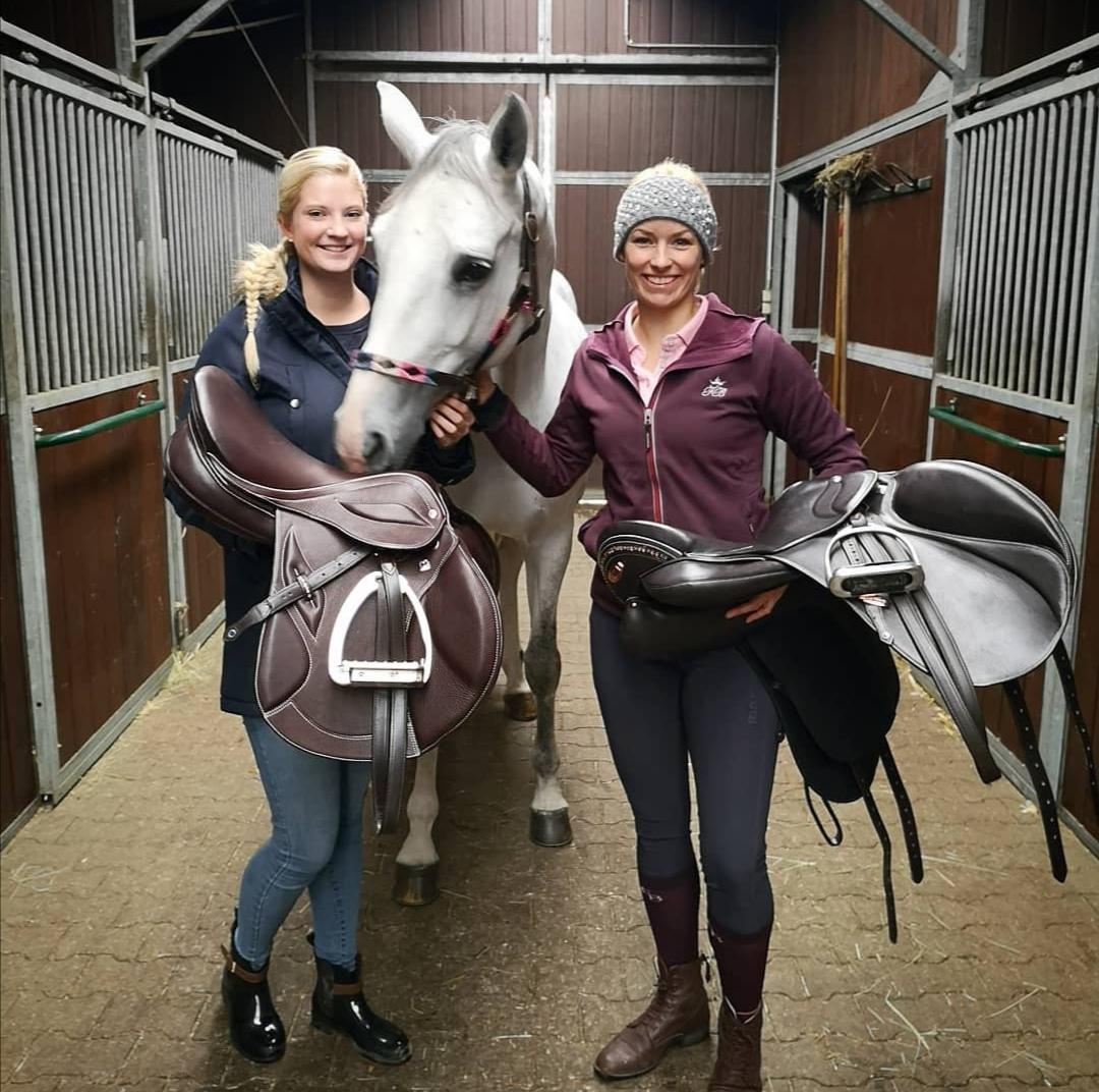 Stübben, Sattel, Pferd, reiten, Reiter, Annica Hansen ist seit langem großer Fan unserem Stübben Equi-Soft Sattelgurt. Vor einiger Zeit hat Annica unserer Sattlerin Luisa Herbst,  Equi-Soft Sattelgurt