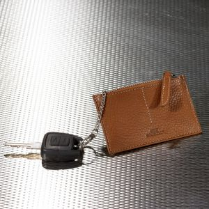 Schlüsseletui mit Reißverschluss